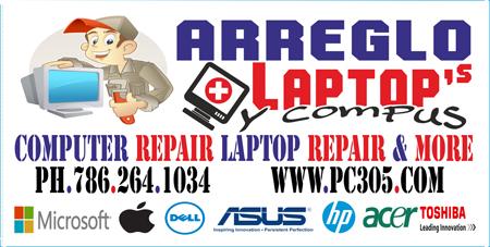Reparación de Computadoras I laptops - Home Computer Repair